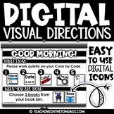 DIGITAL Directions Slides | Morning Meeting Slides | Morning Slides