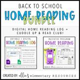 DIGITAL + EDITABLE Home Reading Bundle!