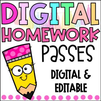 homework pass clip art