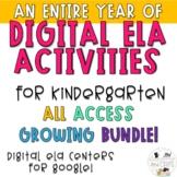 DIGITAL ELA KINDERGARTEN ACTIVITIES FOR THE ENTIRE YEAR - GOOGLE