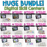 DIGITAL ELA SKILL CENTERS {352} for the ENTIRE YEAR