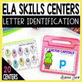 DIGITAL ELA SKILL CENTERS for Letters and Concepts of Print