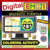 DIGITAL EMOJI - Discriminant and Quadratic Formula