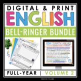 DIGITAL ENGLISH BELL RINGERS (VOL 2): PAPERLESS GOOGLE & PRINT BUNDLE