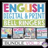 ENGLISH BELL RINGERS DIGITAL / PRINT BUNDLE (VOL 2): PAPERLESS & PRINT