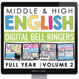 DIGITAL ENGLISH BELL RINGERS (VOL 2): PAPERLESS GOOGLE VERSION