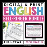 DIGITAL ENGLISH BELL RINGERS (VOL 3): PAPERLESS GOOGLE & PRINT BUNDLE
