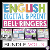 ENGLISH BELL RINGERS DIGITAL / PRINT BUNDLE (VOL 3): PAPERLESS & PRINT