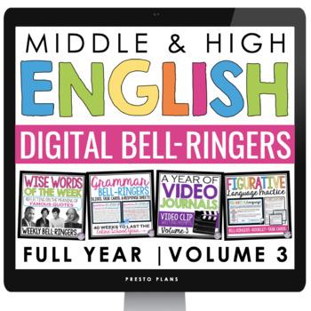 DIGITAL ENGLISH BELL RINGERS (VOL 3): PAPERLESS GOOGLE VERSION