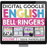 DIGITAL ENGLISH BELL RINGERS (VOL 3): PAPERLESS GOOGLE VERSION