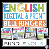 ENGLISH BELL RINGERS DIGITAL / PRINT BUNDLE (VOL 4): PAPERLESS & PRINT