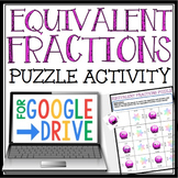DIGITAL EQUIVALENT FRACTIONS ACTIVITY / Distance Learning