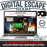 Digital Escape Room, A Christmas Carol, Charles Dickens, Fun for the Holidays!