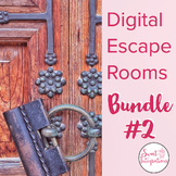 DIGITAL ESCAPE ROOM BUNDLE #2: Cooperative Learning