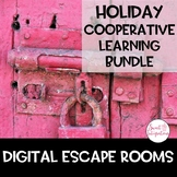 DIGITAL ESCAPE ROOM BUNDLE | Holiday Theme | Team-Building