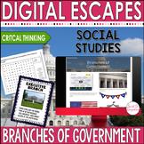 DIGITAL ESCAPE ROOM: Branches of Government