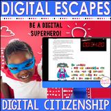 DIGITAL ESCAPE ROOM: Digital Citizenship Escape Cyberspace