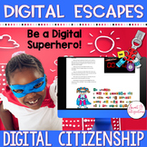 DIGITAL ESCAPE ROOM: Digital Citizenship Escape Cyberspace