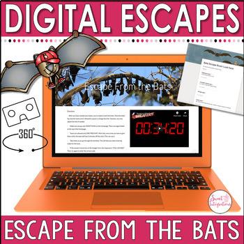 DIGITAL ESCAPE ROOM: Bats With a 360 View Google Tour Creator™