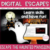 DIGITAL ESCAPE ROOM: HALLOWEEN THEME Escape the Haunted Mansion