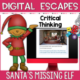 DIGITAL ESCAPE ROOM | Christmas Theme| Santa's Missing Elf