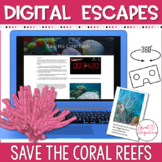 DIGITAL ESCAPE ROOM: Save the Coral Reefs Science 360 View Google Tour Creator™