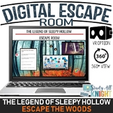 DIGITAL ESCAPE ROOM, THE LEGEND OF SLEEPY HOLLOW, ESCAPE THE WOODS