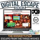 Digital Escape Room, The Monkey's Paw, W.W. Jacobs, Escape The Three Wishes!