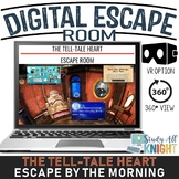 Digital Escape Room, The Tell-tale Heart, Edgar Allan Poe Escape By The Morning