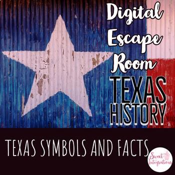 DIGITAL ESCAPE ROOM: Texas Symbols and Facts