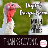 THANKSGIVING ESCAPE ROOM | Thanksgiving Dinner Digital Escape