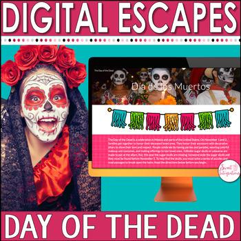 Day of the Dead Activities | Día de los Muertos | Digital Escape Room