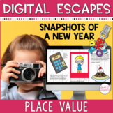 BACK TO SCHOOL DIGITAL ESCAPE ROOM   Place Value Math Activities