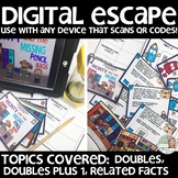 DIGITAL ESCAPE (doubles, doubles plus 1, related facts)