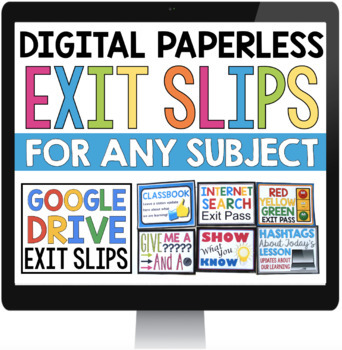 DIGITAL EXIT PASSES FOR GOOGLE DRIVE