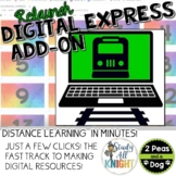 Digital Express Add-On, Fast Track for Creating Digital Resources