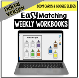 DIGITAL Easy Matching Weekly Workbooks