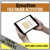 DIGITAL Emotion File Folder Activities