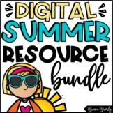 DIGITAL Summer Math & ELA Activities for Distance Learning