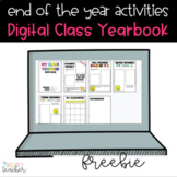 DIGITAL End of the Year Yearbook FREE | Distance Learning