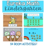 DIGITAL Eureka Math Kindergarten Activities (Engage NY) BUNDLE