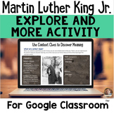 DIGITAL Explore and More Activity-  Dr. Martin Luther King Jr.