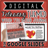 "DIGITAL FEBRUARY THEMED ""Would You Rather..."" JOURNAL IN G"