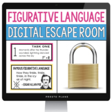 DIGITAL FIGURATIVE LANGUAGE ESCAPE ROOM ACTIVITY   DISTANC