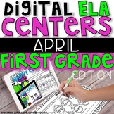 DIGITAL FIRST GRADE ELA CENTERS APRIL