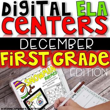 DIGITAL FIRST GRADE ELA CENTERS DECEMBER
