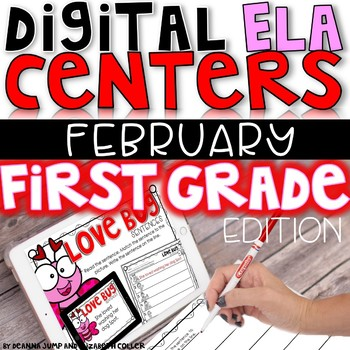 DIGITAL FIRST GRADE ELA CENTERS FEBRUARY