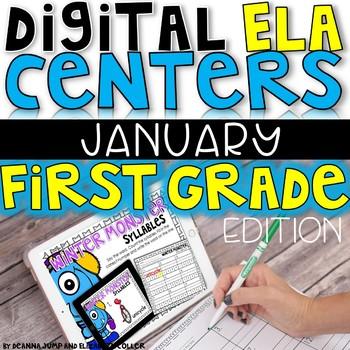 DIGITAL FIRST GRADE ELA CENTERS JANUARY