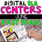 DIGITAL FIRST GRADE ELA CENTERS JUNE