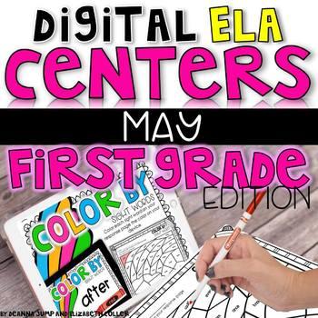 DIGITAL FIRST GRADE ELA CENTERS MAY